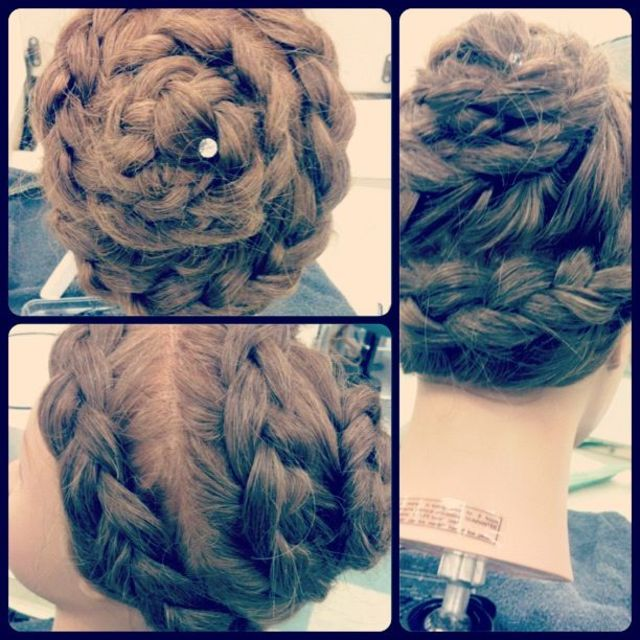 Bee-hive braid