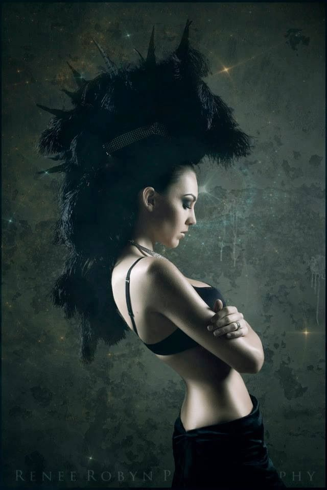 Black Headdress