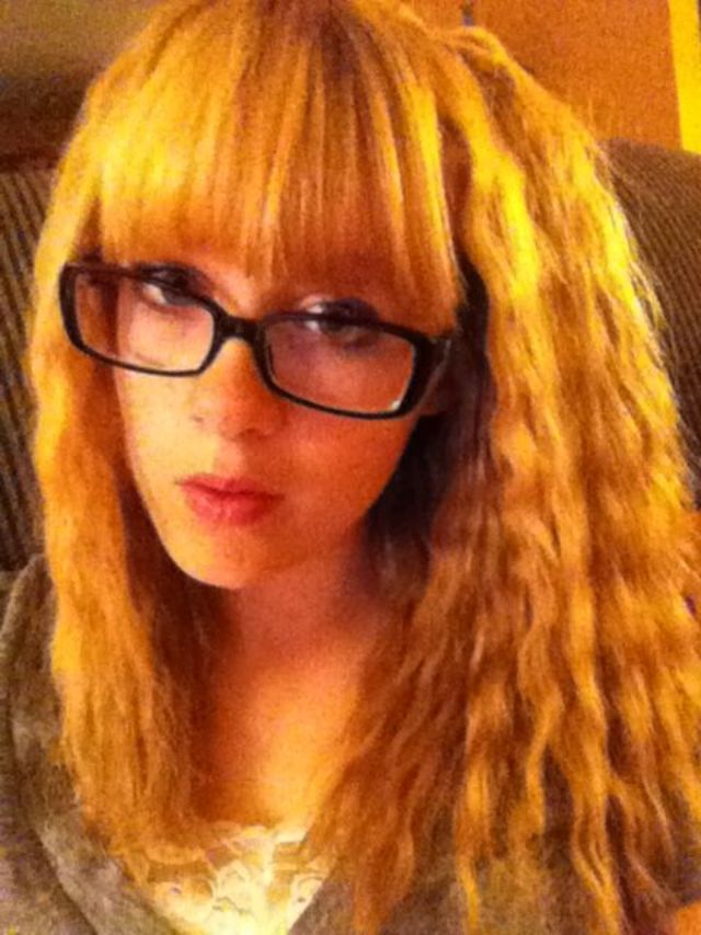 Blonde Crimped