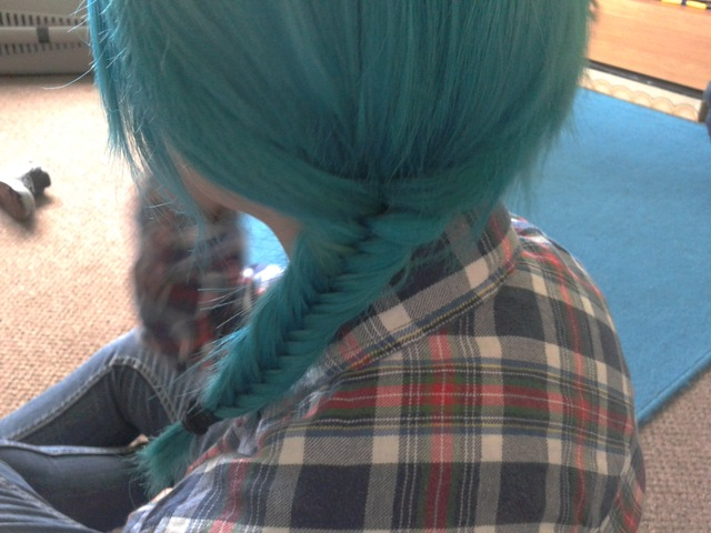 Blue Fishtail