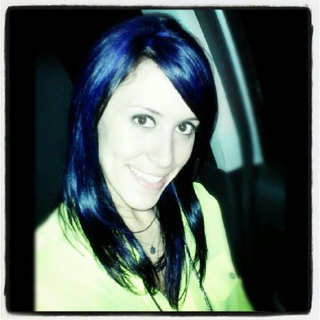 Blue/Purple Hair