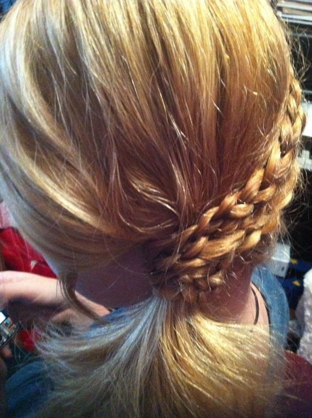 Braided Side-Ponytail