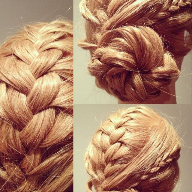 Braided Up style
