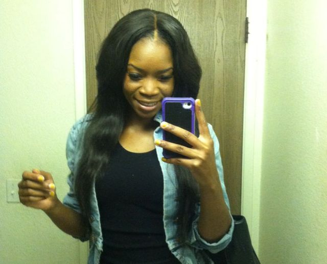Brazilian straight ( w. lace closure )