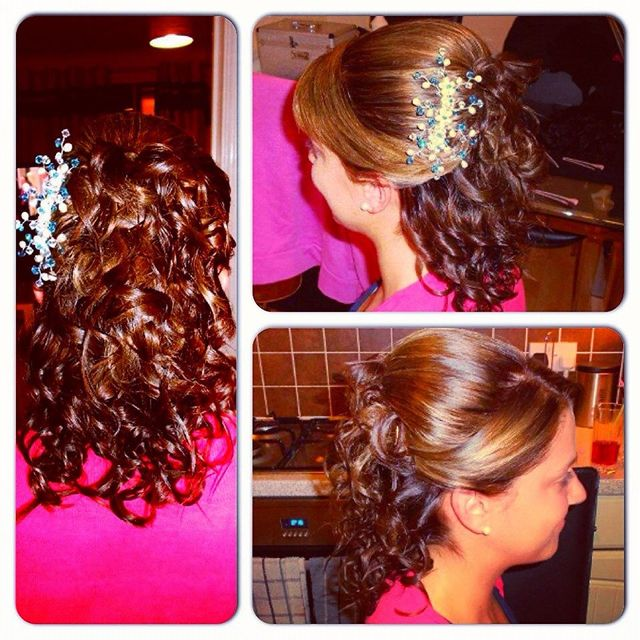 Bridesmaids Style/Curls