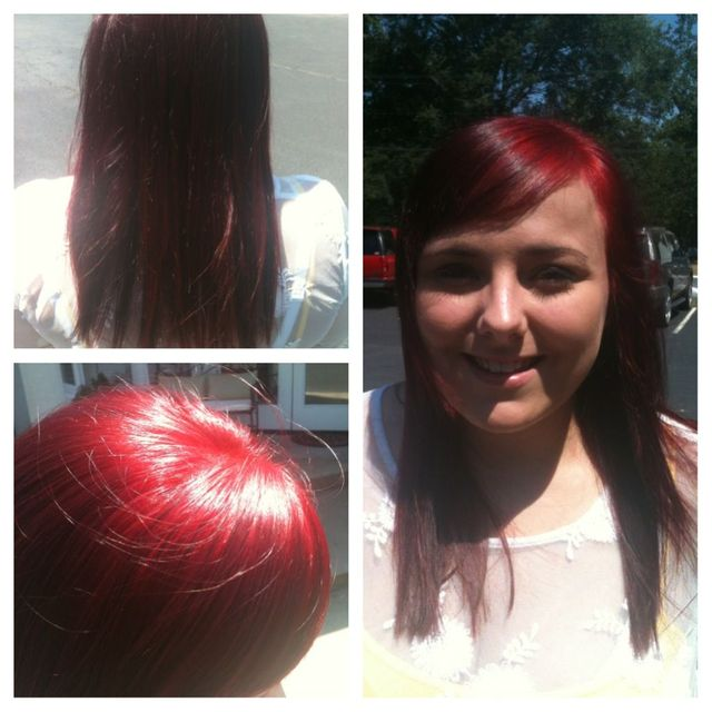 Bright Red Hair!
