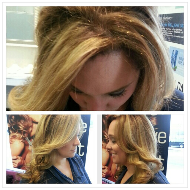 Color cut highlight