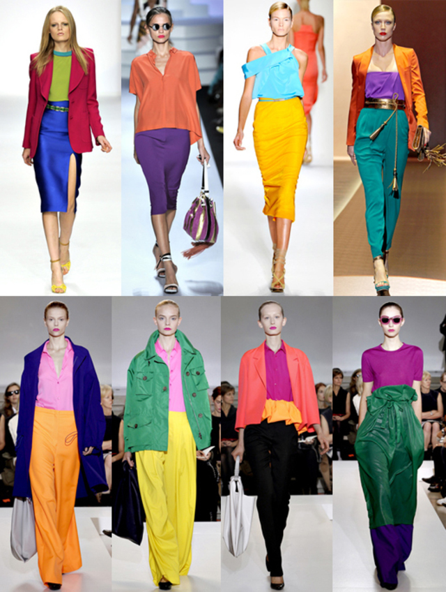 Color Blocking 2011