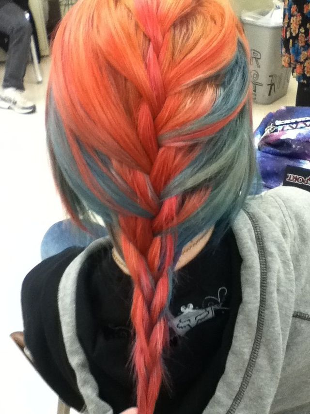 Colour'd braid