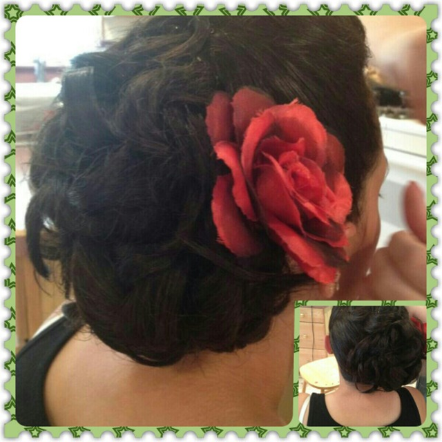 Curls with Rose