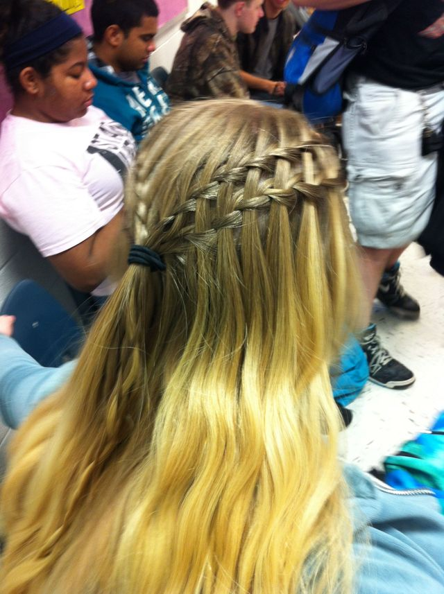 Double Waterfall Braid :)
