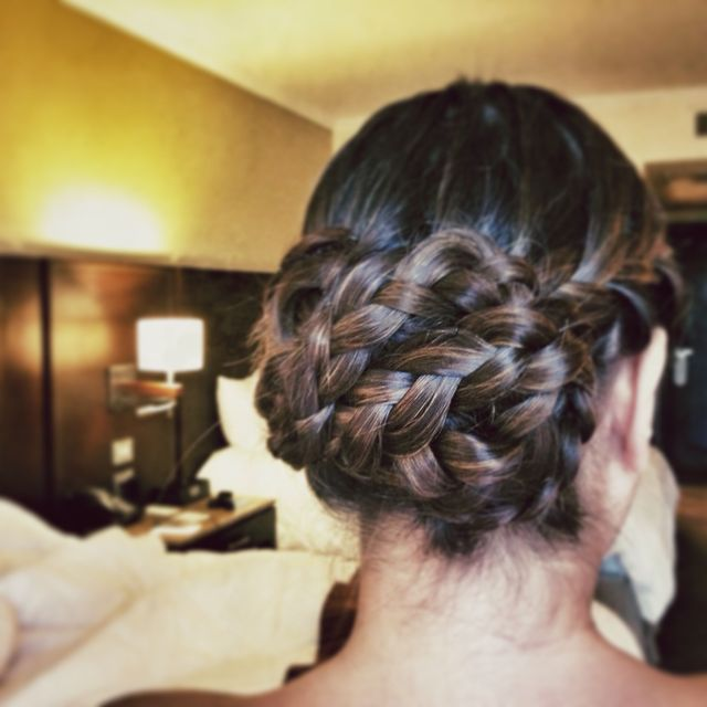 Fancy Braided Updo