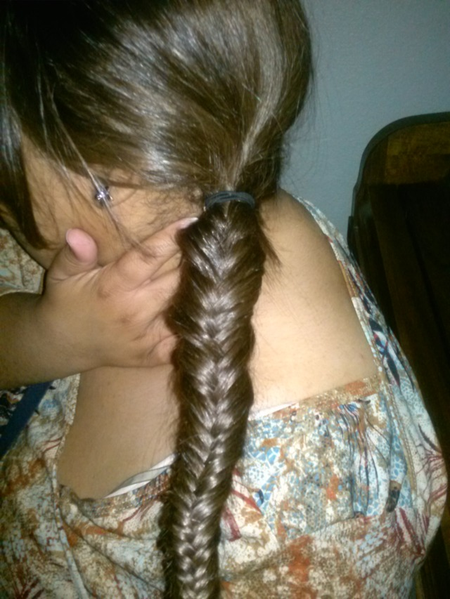 First try fishtail