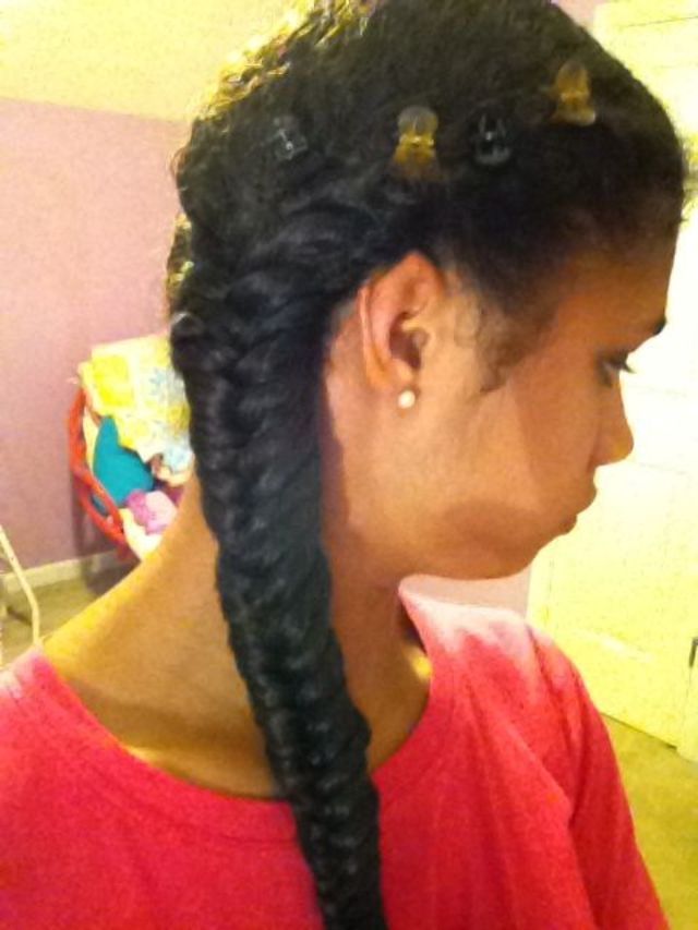 Fishbone braid