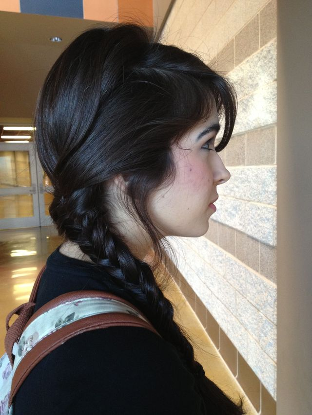 Fishtail Sidebraid
