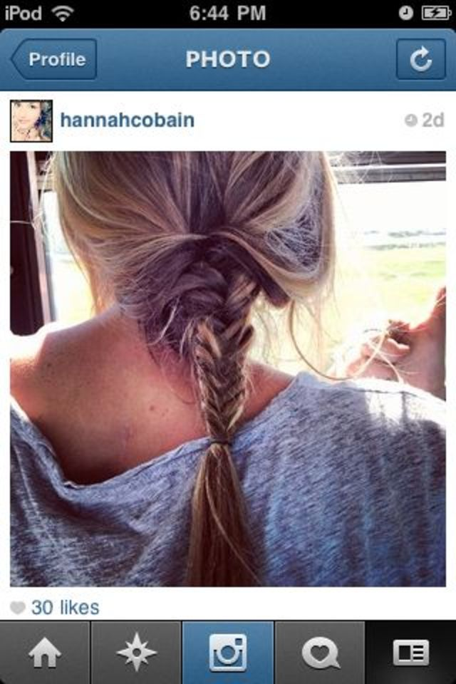 Fishtail braid<3