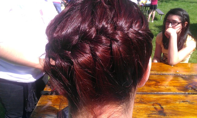 French red braid