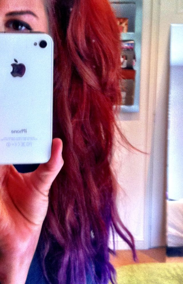 Ginge'n'purple