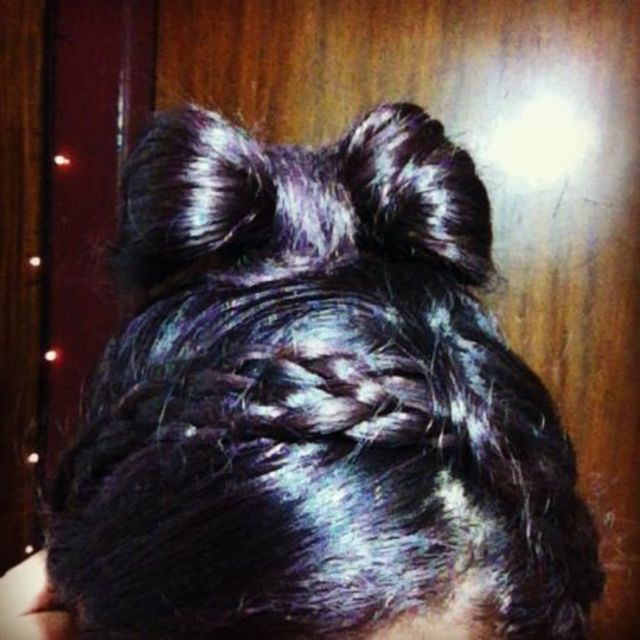 Hair Bow and braided hairband