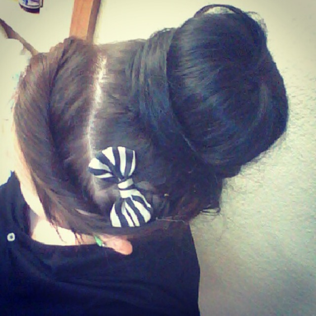 Hair for the day(: