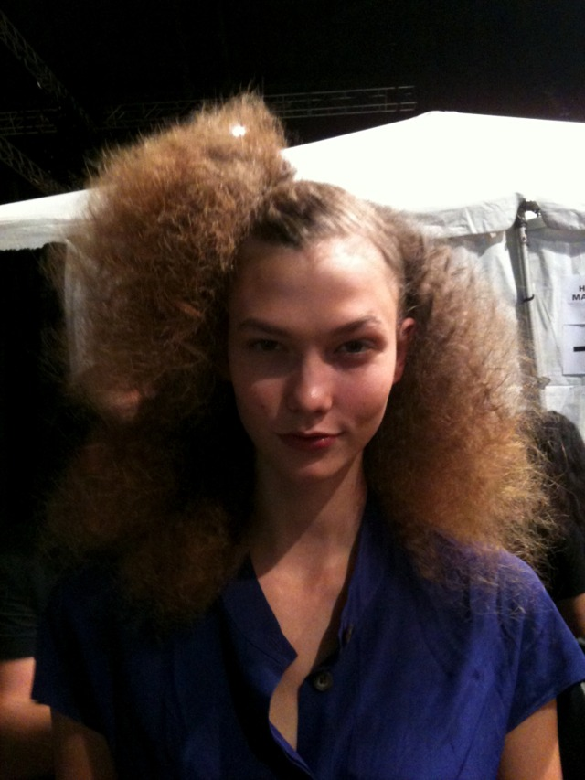 BACKSTAGE MARC JACOBS