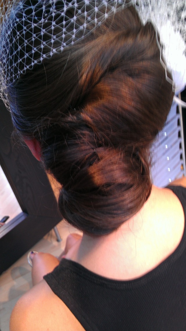 Kate Middleton inspired up-do
