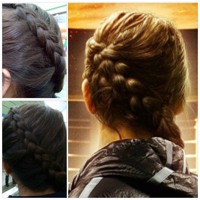 Katniss-inspired braid