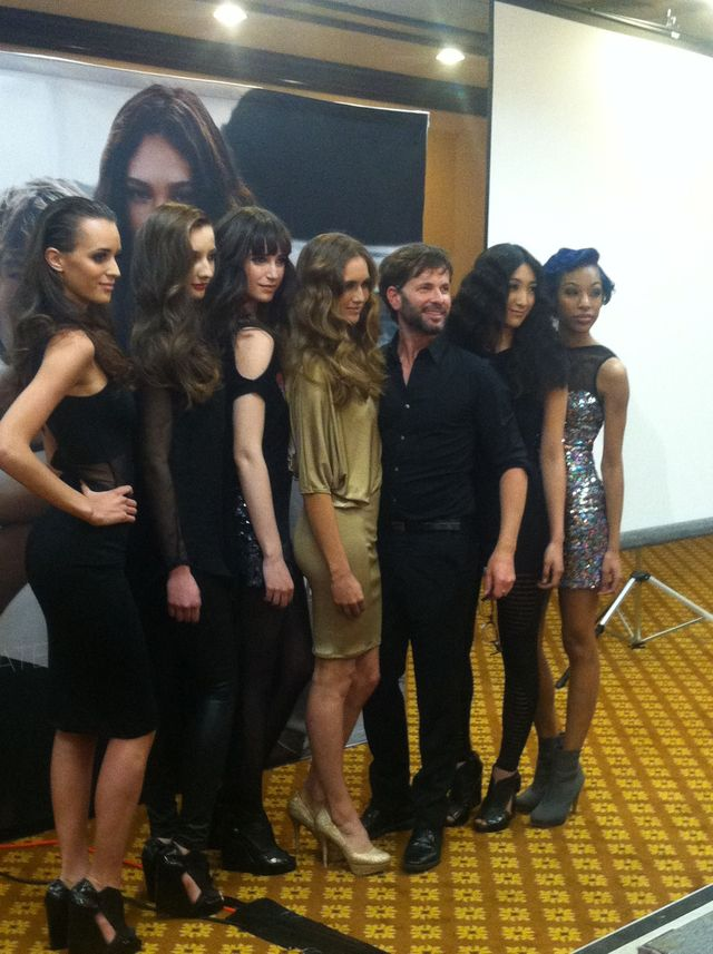 Kevin Murphy David Glover and models