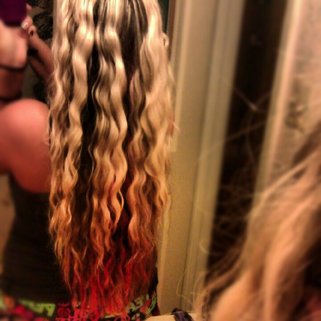 Long Hair /Crimped