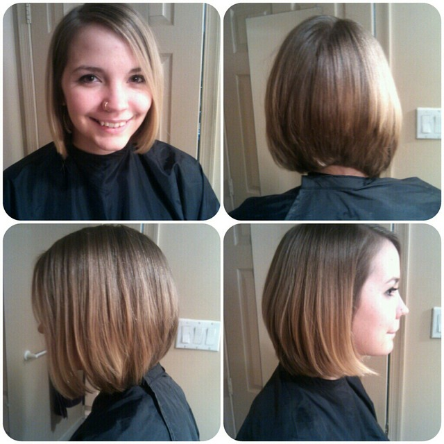 Long Hair to Short Bob
