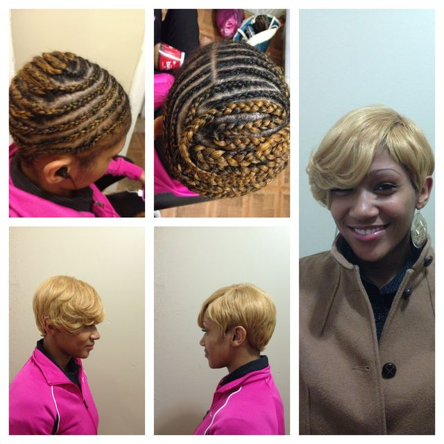 Meagan good inspired weave cap