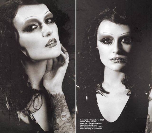 Model: Betty Havok