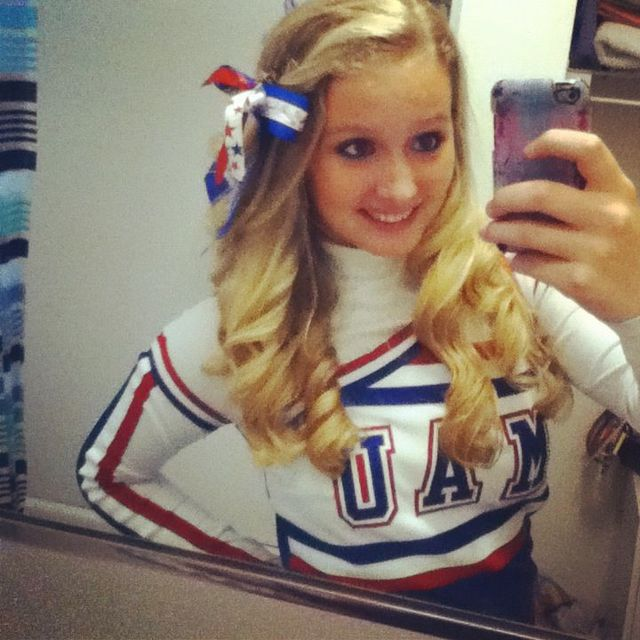 My Cheer Curls<3