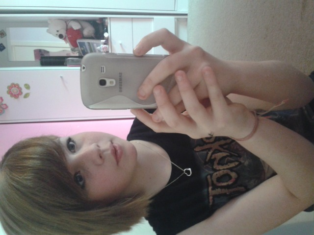My hair was all cut off :o