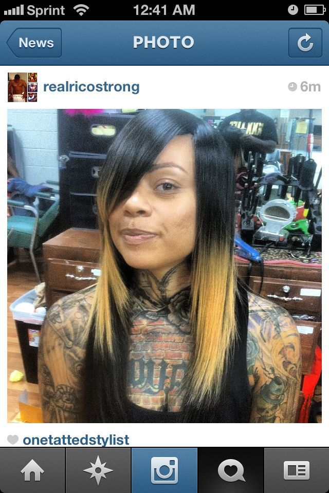 My tatted bombshell