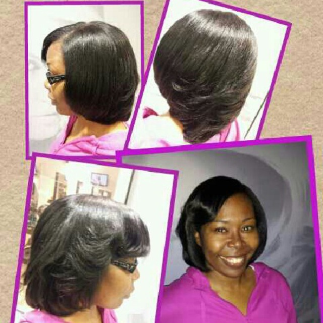 NATURAL HAIR Blow out