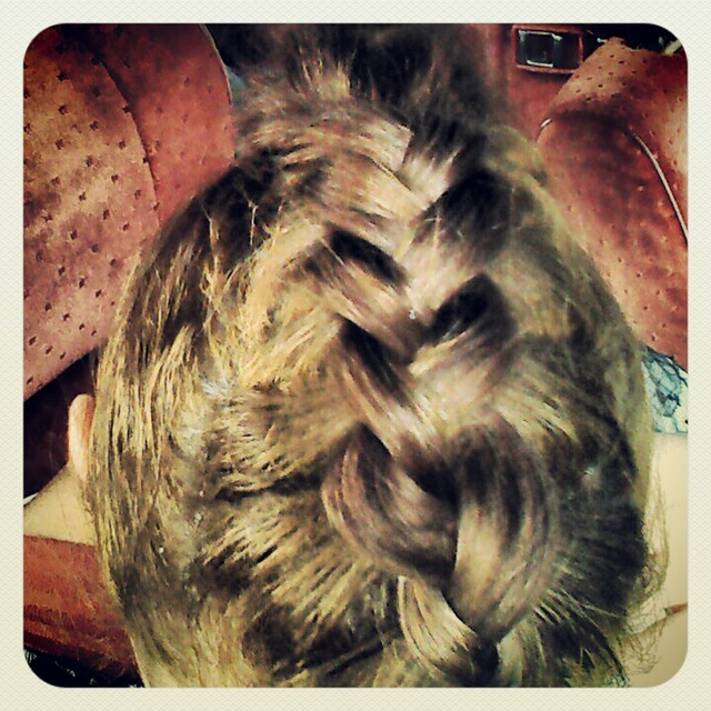 One Phat Dutch Braid