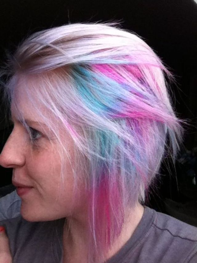 Pastel, Turquoise and Pink