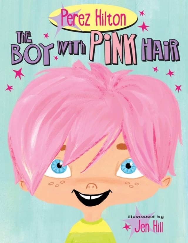 Perez Hilton Boy With Pink Hair Bangstyle