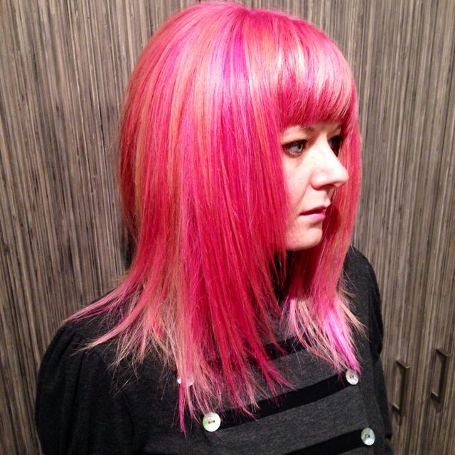 Pink a la Davines Pure Colour