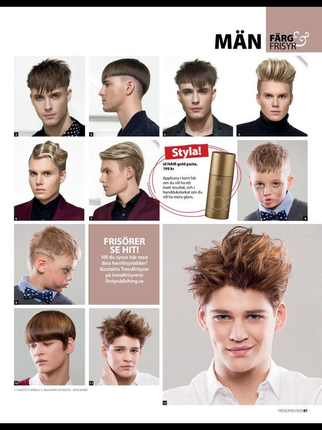 Pulished in hair magazine! 5 last pic