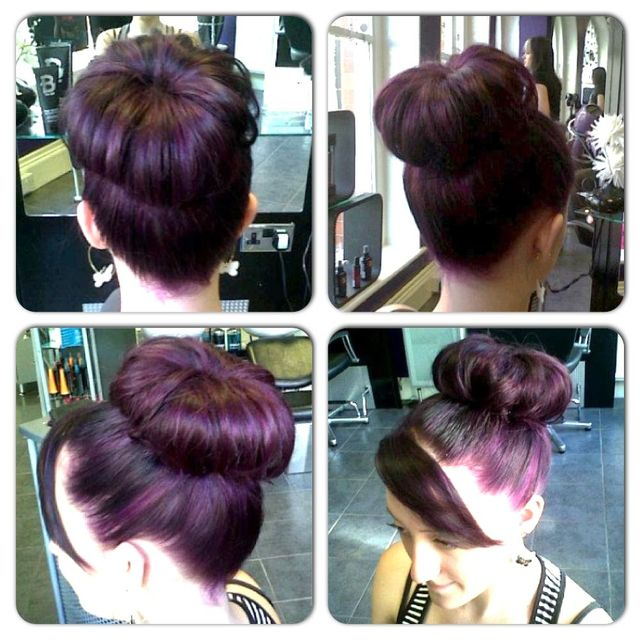 Purple Elumen Bun!