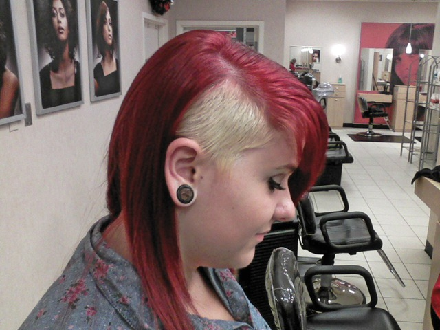 Red Headed Punk Style