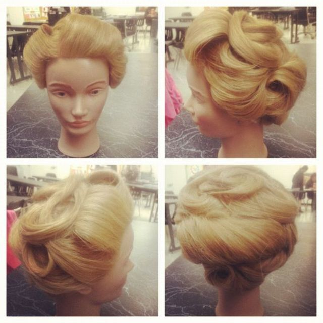 Retro Up-Do
