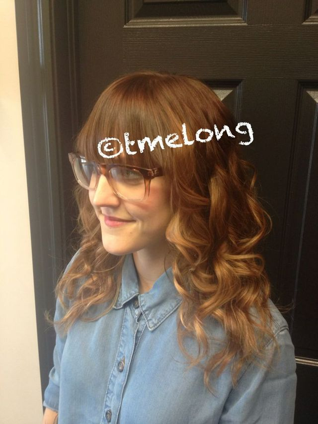 Robyn; summer balayage with loose waves