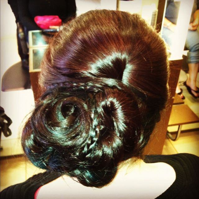 Seashell Up-Do