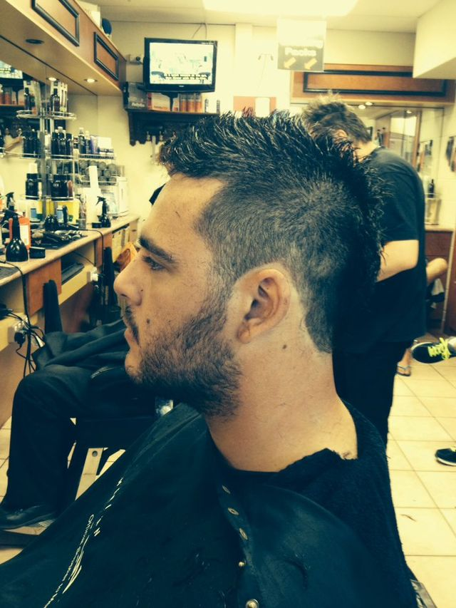 Short length Mohawk