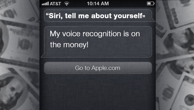 Siri Bangstyle Funny Apple