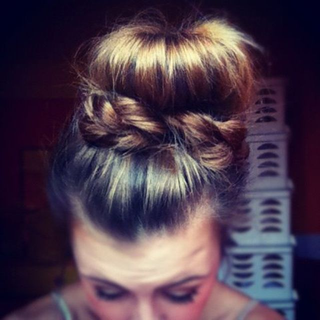 The braid bun