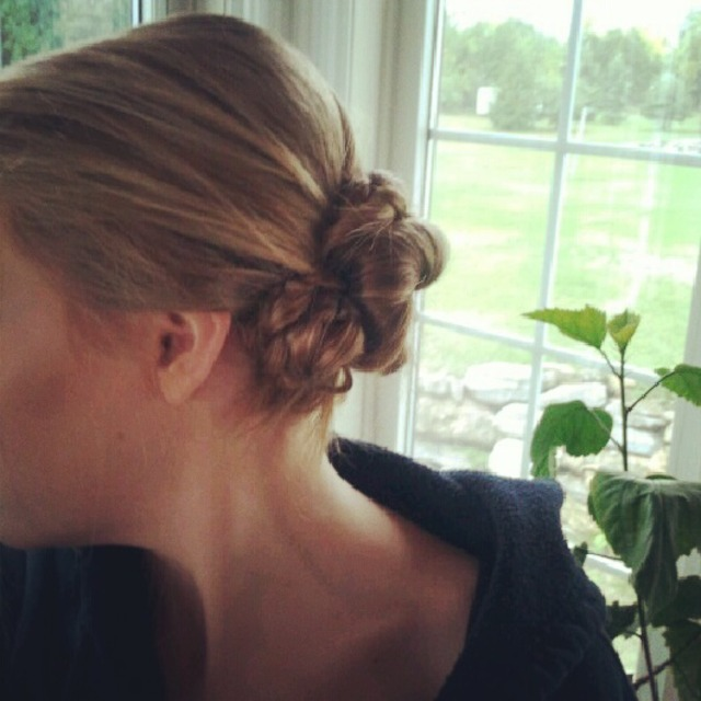 Up do braid